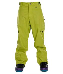 Sessions Gridlock Slub Snowboard Pants Lime