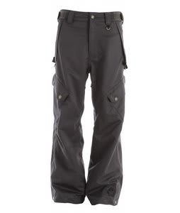 Sessions Gridlock Snowboard Pants Heavy Grey