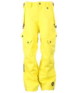 Sessions Gridlock Snowboard Pants Yellow