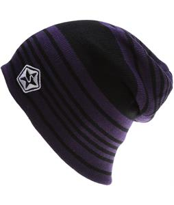 Sessions Heather Stripe Beanie Purple Heather Stripe