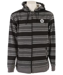 Sessions Heather Stripe Hoodie Grey Heather