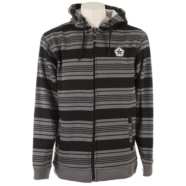 Sessions Heather Stripe Hoodie