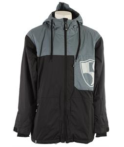 Sessions High Five Snowboard Jacket Black