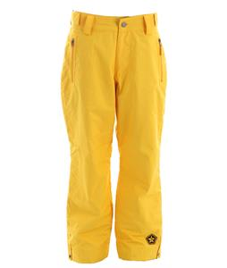 Sessions Incline Snowboard Pants Yellow