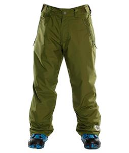 Sessions Incline Snowboard Pants Olive