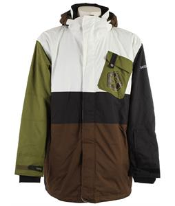 Sessions Iso Snowboard Jacket Brown