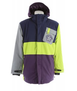 Sessions Iso Snowboard Jacket Purple 