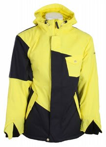 Sessions Istodis Snowboard Jacket Citron