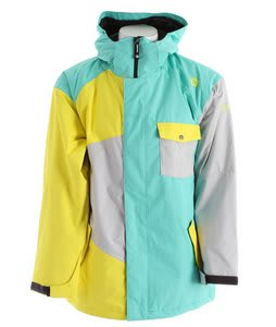 Sessions Istodis Snowboard Jacket Mint Green