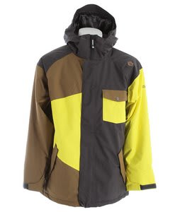 Sessions Istodis Snowboard Jacket Heavy Grey