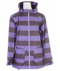 Sessions Jane Snowboard Jacket Purple Heather Stripe