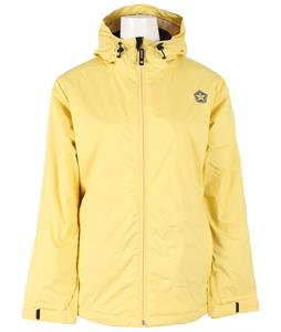 Sessions Janet Snowboard Jacket Yellow
