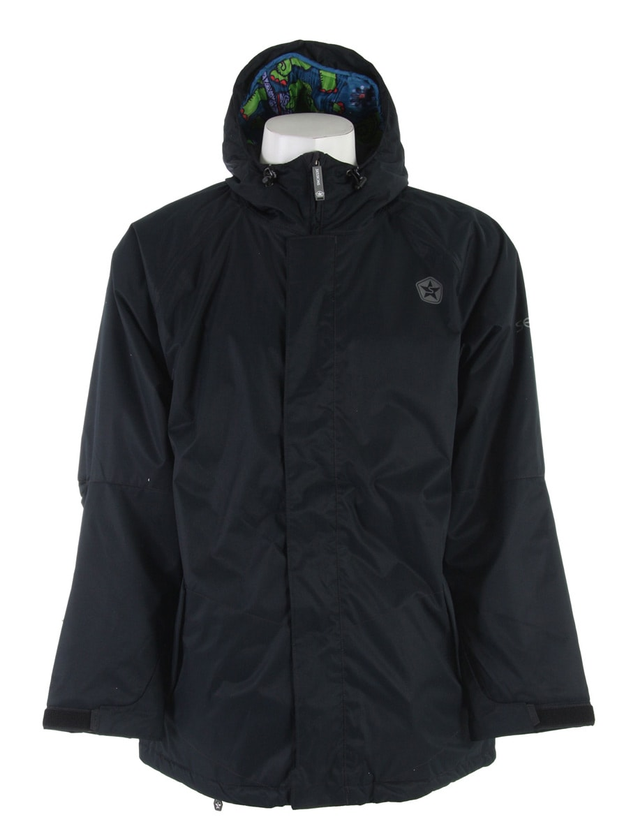 Shop for Sessions Kreuger Snowboard Jacket Black - Men's