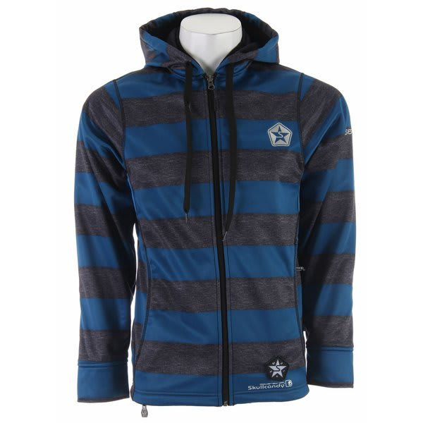 Sessions Kreuger Stripe Skullcandy Softshell Jacket