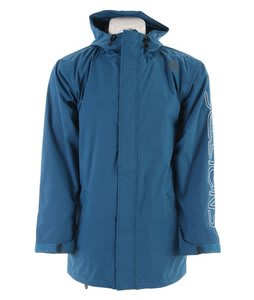 Sessions Logo Snowboard Jacket Blueberry