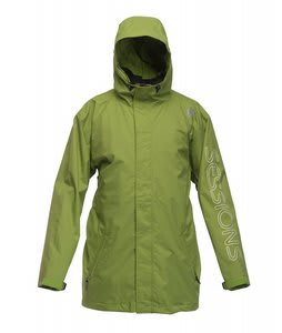 Sessions Logo Jacket Lime