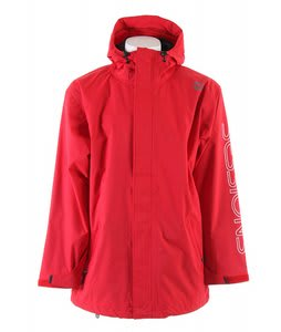 Sessions Logo Snowboard Jacket Red