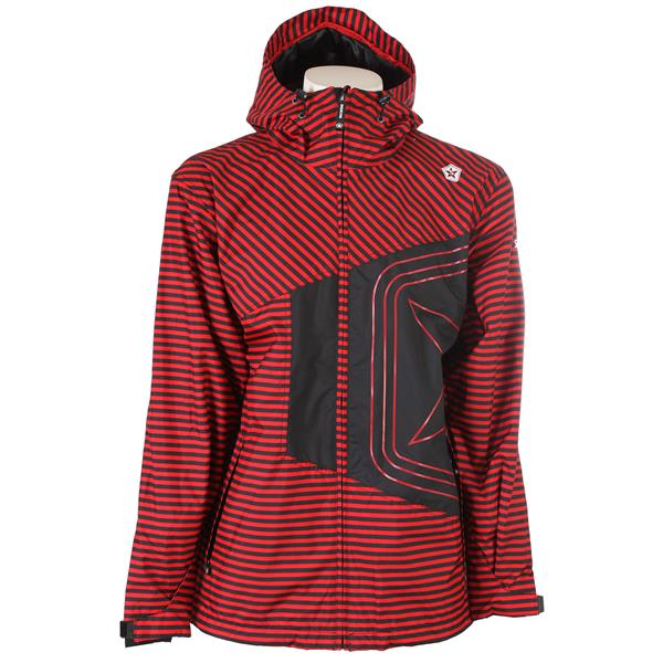Sessions Truth Mini Stripe Shell Snowboard Jacket