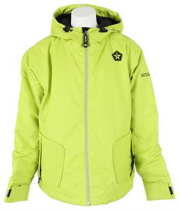 Sessions Munchie Snowboard Jacket Lime