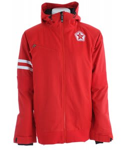 Sessions MVP Snowboard Jacket Red