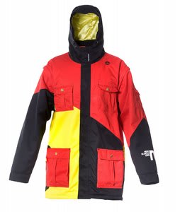 Sessions New Schoolers Ski Jacket Red