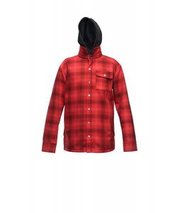 Sessions Outlaw Performance Shirt Softshell Jacket Red Plaid