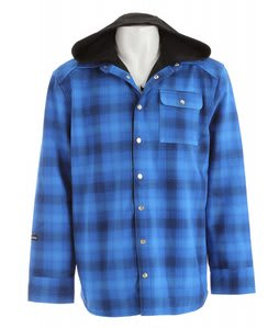 Sessions Outlaw Performance Shirt Softshell Jacket Blue Plaid
