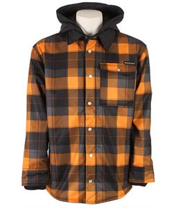 Sessions Outlaw Plaid Softshell Orange Plaid