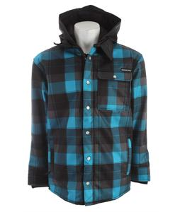 Sessions Outlaw Plaid Softshell Blue Plaid