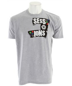 Sessions Paint T-Shirt Grey/White