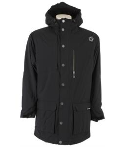 Sessions Parka Snowboard Jacket Black