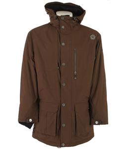 Sessions Parka Snowboard Jacket Brown