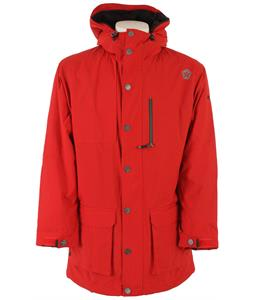 Sessions Parka Snowboard Jacket Red