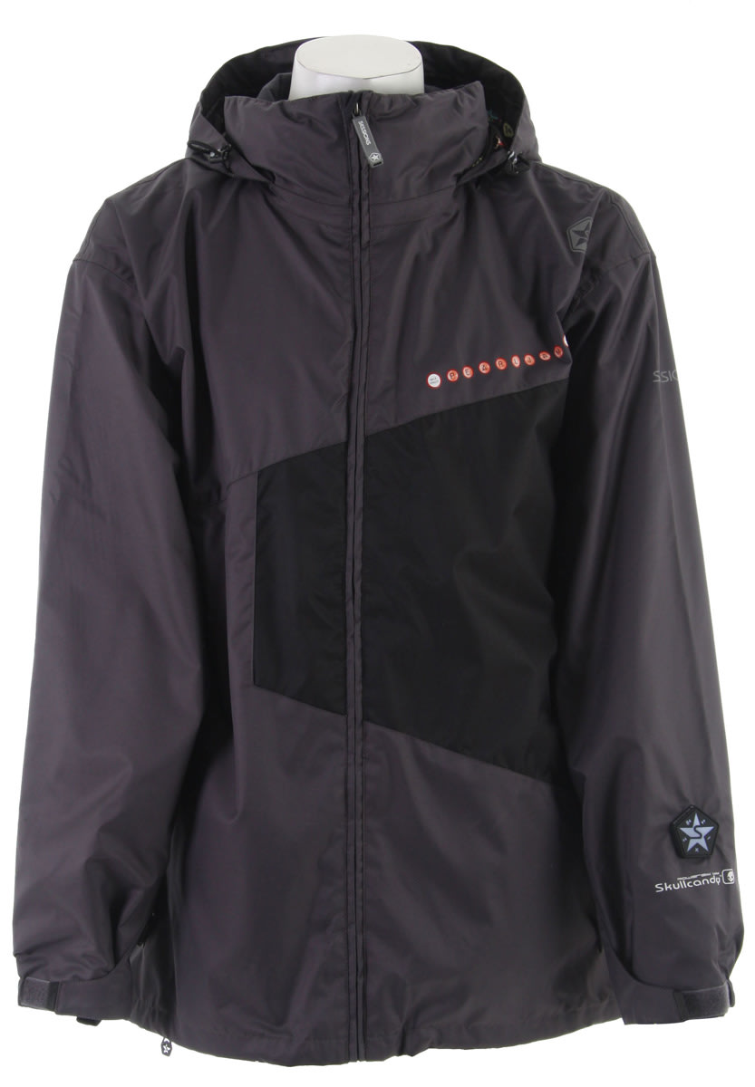 Shop for Sessions Pearl Jam Snowboard Jacket Heavy Grey - Men's
