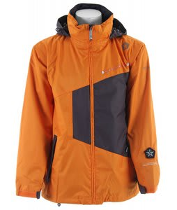 Sessions Pearl Jam Snowboard Jacket Orange