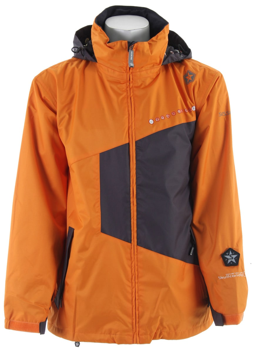 Buy jacket & suites - Sessions Pearl Jam Snowboard Jacket Orange