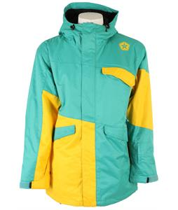 Sessions Platform Snowboard Jacket Teal
