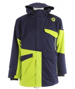 Sessions Platform Snowboard Jacket Navy 