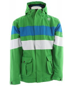 Sessions Player 2 In 1 Snowboard Jacket Kelly Green