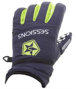 Sessions Racer Gloves Navy