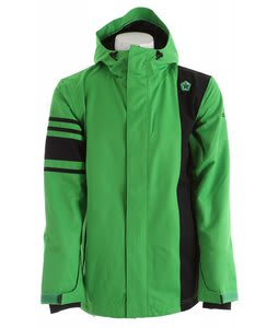 Sessions Rally Snowboard Jacket Kelly Green