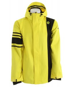 Sessions Rally Snowboard Jacket Yellow