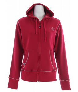 Sessions Raw Hoodie Cranberry