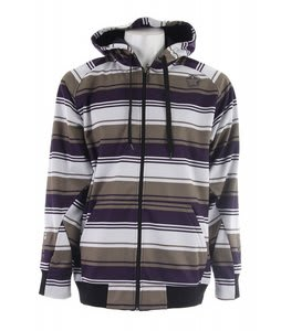 Sessions Retro Stripe Softshell Snowboard Jacket Purple Retro Stripe