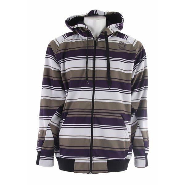 Sessions Retro Stripe Softshell Jacket
