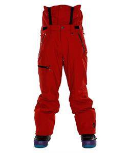 Sessions Resolute Snowboard Pants Red