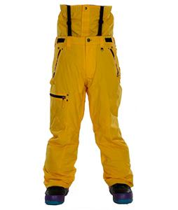 Sessions Resolute Snowboard Pants Yellow