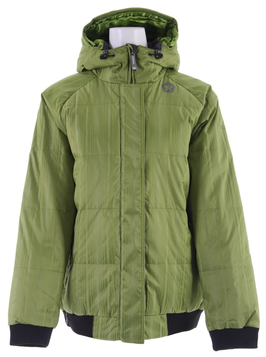 Shop for Sessions Reuse Snowboard Jacket Lime - Women's