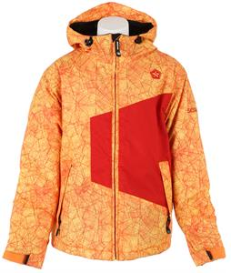 Sessions Score Glacier Snowboard Jacket Red Glacier