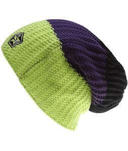 Sessions Scout Stripe Beanie Lime